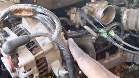 replacing engine coolant temperature sensor   ford