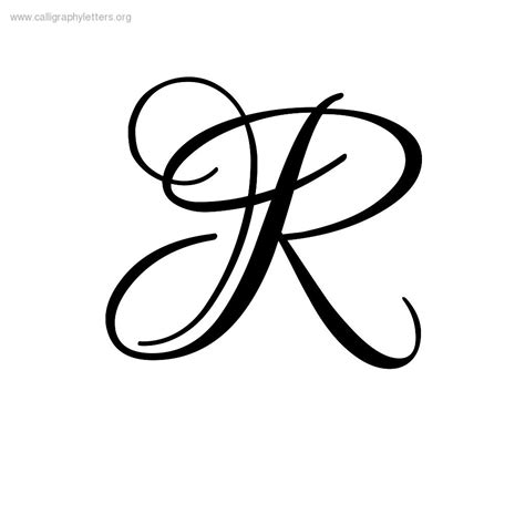 Letter R In Different Styles Ialoveni Info