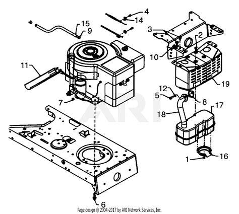 Sear 26 Kohler Engine Electrical Diagram by Mtd 13aq698g131 2001 Parts Diagram For Engine