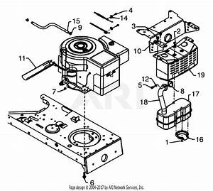 Mtd 13aq698g131  2001  Parts Diagram For Engine