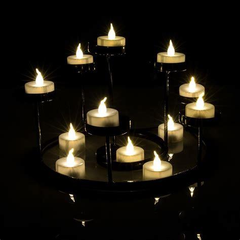 light candles agptek 174 24 lot warm white led battery operated flameless Led