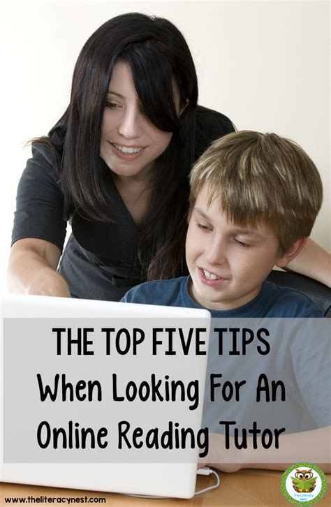 The Top Five Tips When Looking For An Online Reading Tutor  The Literacy Nest