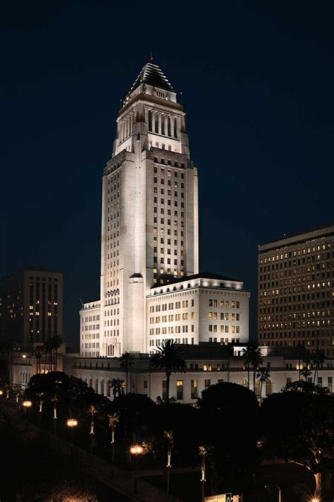 Los Angeles City Hall  Horton Lees Brogden Lighting Design