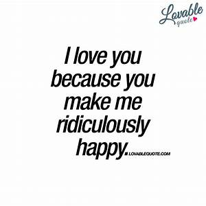 i love you because love quotes for her 8134 the. i love ...