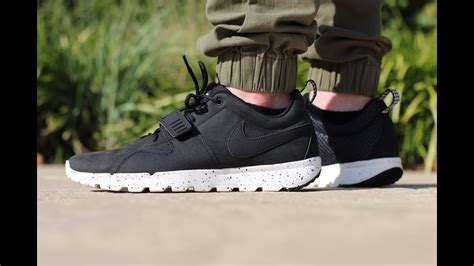 Nike Sb Trainerendor Low Acg (on Feet) Youtube