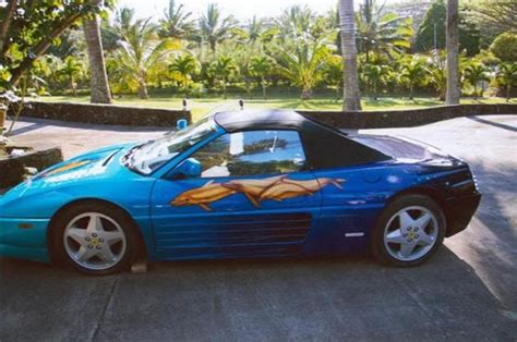 There are 210 classic ferraris for sale today on classiccars.com. The Luxuriest Moment: Ferrari 348 Spider $100,000 paintjob for sale