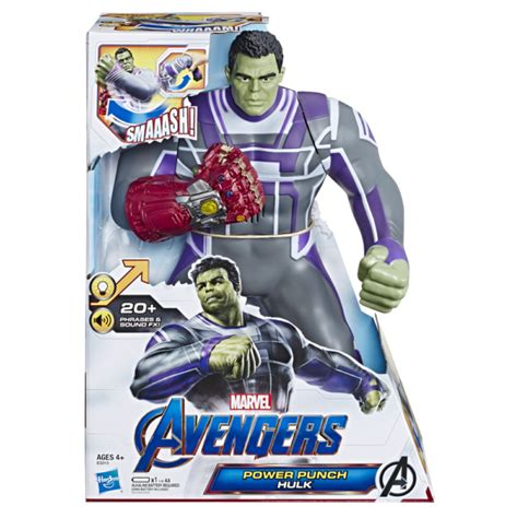 hasbro unveils marvel legends figures avengers endgame power