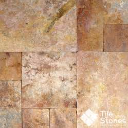 revona travertine versailles pattern traditional wall and floor tile other metro by
