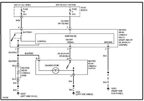 2001 Jeep Power Window Wiring Diagram by System Wiring Diagrams 1993 Jeep Xj