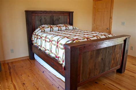 barnwood bed project buildsomethingcom
