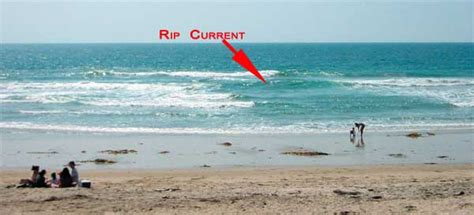 rip currents   identify rip currents