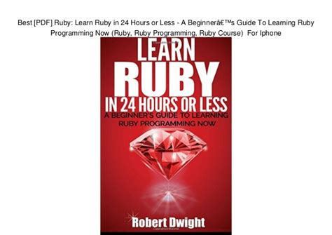 ruby programming donkeytime pdf learn