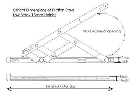 wholesale high quality ss friction stay  top hung window  casement windowaluminum window