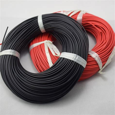 meter  awg gauge silicone wire flexible stranded copper cables  rc hot sales  wires