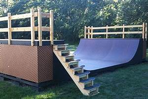 Man I really want to build a mini ramp in my backyard ...
