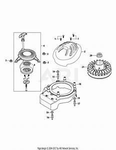 Mtd 2p70mu Engine Parts Diagram For 2p70mu Flywheel  U0026 Shroud