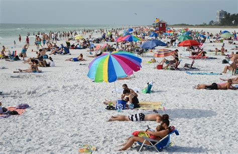 Siesta Beach Ranked No 1 By Tripadvisor News Sarasota