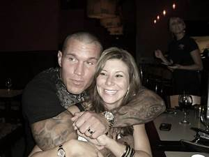 All Sports Stars: Randy Orton with Wife Pics