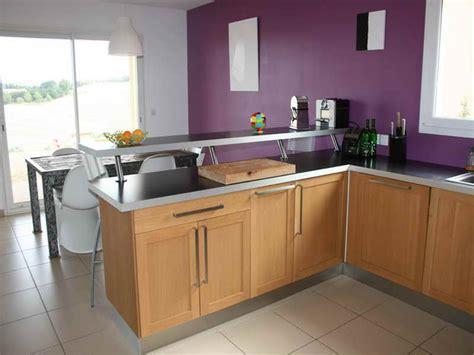 cuisine de bar cuisine ouverte avec comptoir cuisine en image