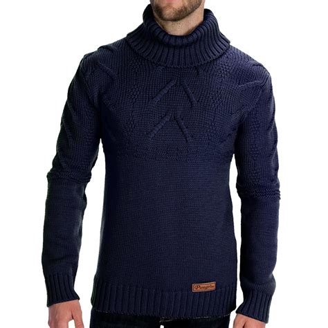 mens wool turtleneck sweater peregrine by j g turtleneck cable sweater merino