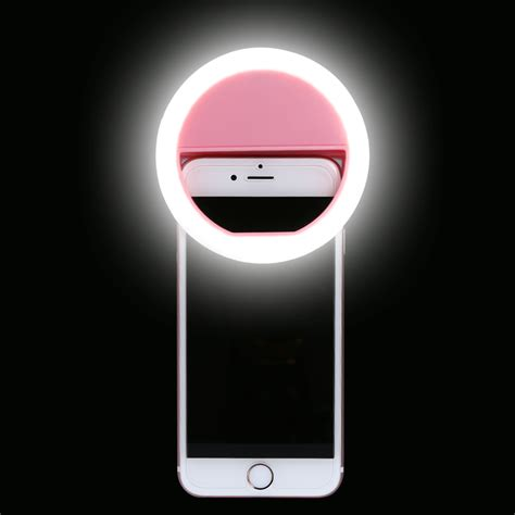 lights with smartphone new selfie portable flash led camera photography ring light for smartphone iphone 7 6 plus 6s 6