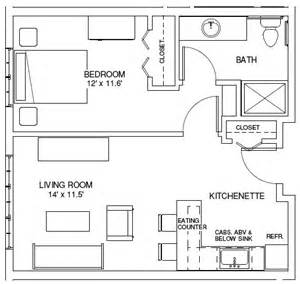 1 bedroom house plans one bedroom floor plans unique house plans