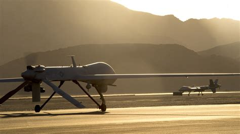 wallpaper mq  reaper mq  drone combat usa army landing military