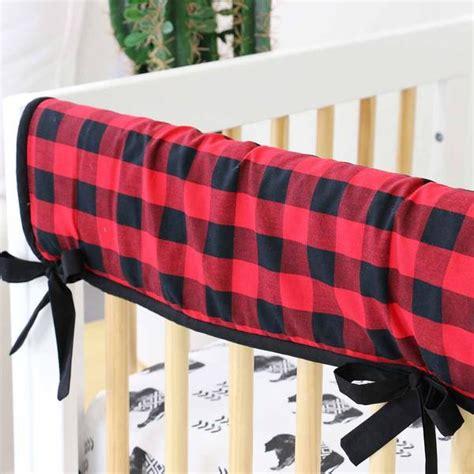 Axel's Buffalo Check Baby Boy Crib Bedding  Caden Lane