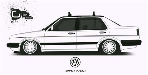 Vw Jetta Mk2 By Thegile On Deviantart