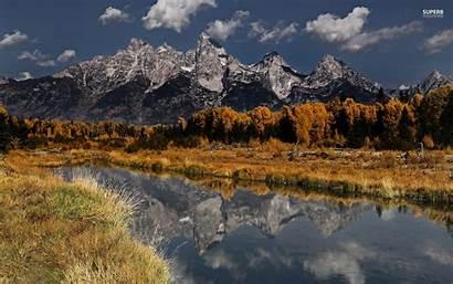 Teton Grand Wallpapers Park National Desktop Nice