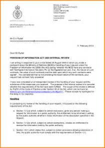 Sample Official Letter Format