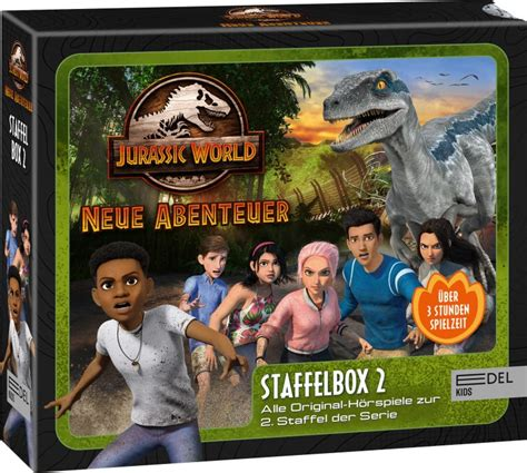 Jurassic World Neue Abenteuer Staffel 2 Ab Dem 2603