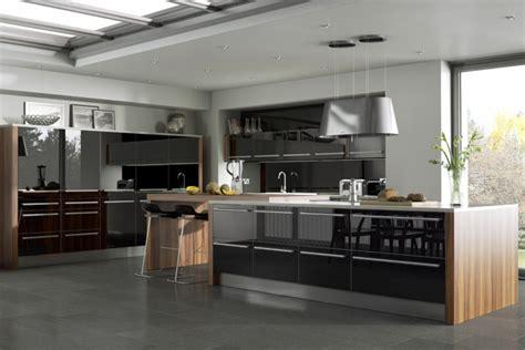 cuisine ultra moderne cuisine et bois moderne et élégante ideeco