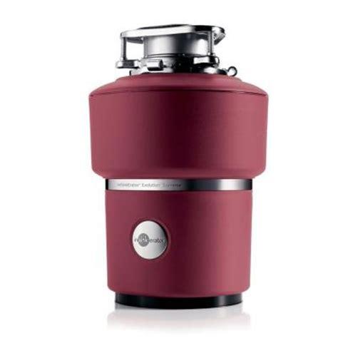 insinkerator evolution select insinkerator evolution supreme 1 hp continuous feed