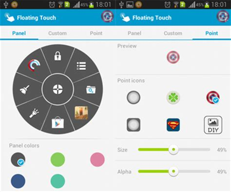 assistive light widget floating touch assistive touch for android aw center