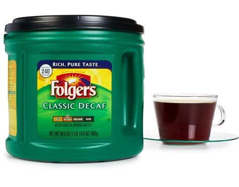 Started using it on a regular basis and was sad to see that they took it off the. Folgers Ground Coffee 30.5 oz. - Classic Decaf | Boxed