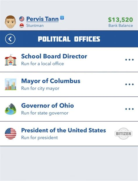 bitlife guide president run become office game political elected minister politics prime read