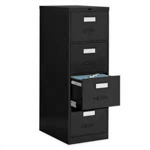 global office 4 drawer vertical metal file cabinet light