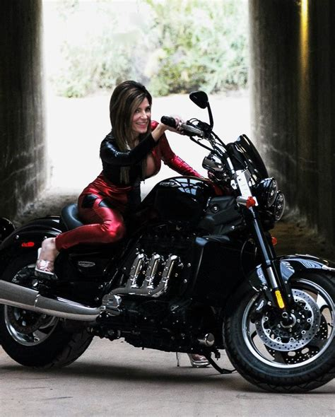 heeled motorcycle women on bikes women on motorcycles triumph motorcycle