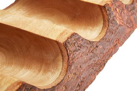 bottle barked mantel mango wood