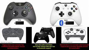 Clarification About Xbox One Controllers S Config