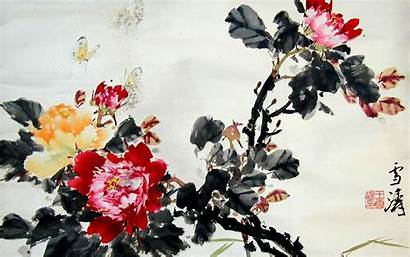 Chinese Desktop Wallpapers Artwork Background Backgrounds Paintings