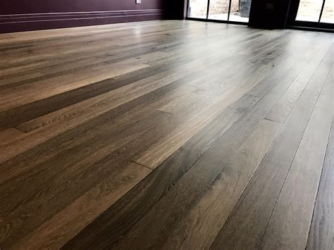 Herringbone French Oak Hardwood Floor Installation