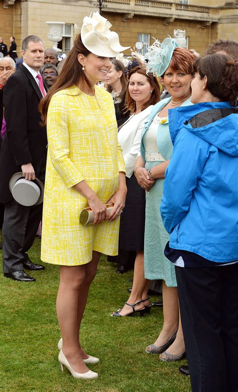 Gallery Pregnant Kate Middleton Attends Buckingham Palace