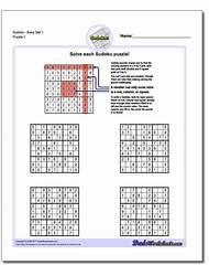 Printable Logic Puzzle Worksheets