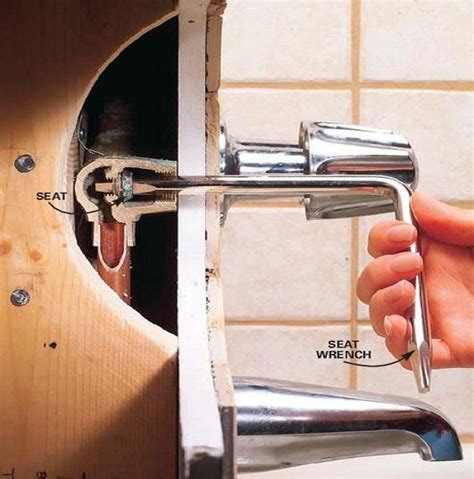 Conducting Bathtub Faucet Repair, Bathtub Faucet Repair