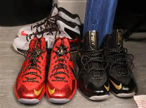 NBA Finals LeBron James Shoes