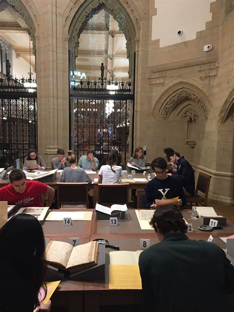 The New Gates Classroom in Manuscripts and Archives   Yale ...