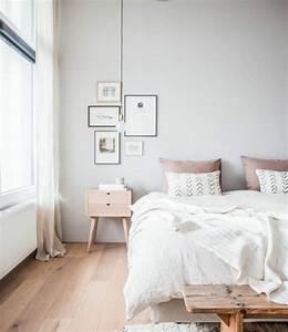 Deco Chambre Bois : stunning id es pour une chambre scandinave styl e with deco chambre scandinave ~ Melissatoandfro.com Idées de Décoration