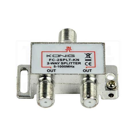 m g electronic tv antenski spliter 1 ulaz 2 izlaza prof